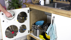 How to organise your pot lids with sugru hooks