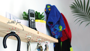 How to replace hooks with sugru + magnets