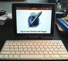 Make a DIY iPad stand