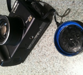 Refit your loose lens-cap
