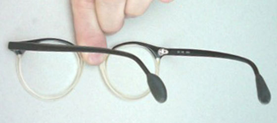 Prevent your spectacles from slipping