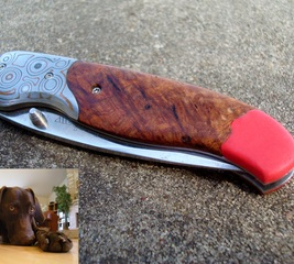 Repair a pocketknife handle