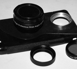 Make a 30mm camera accessory adapter case for your phone