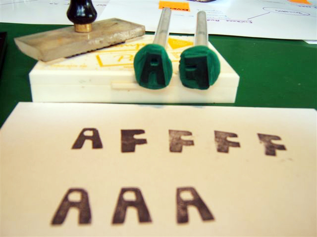 Make DIY rubber stamps