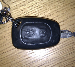 Save a disintegrating car key fob