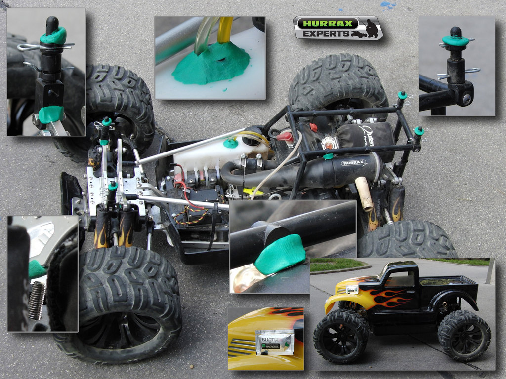 Boost a Hurrax RC car