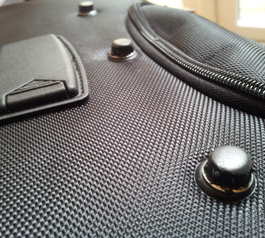 Cover bolts on your travelling case