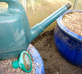 Improve a watering can