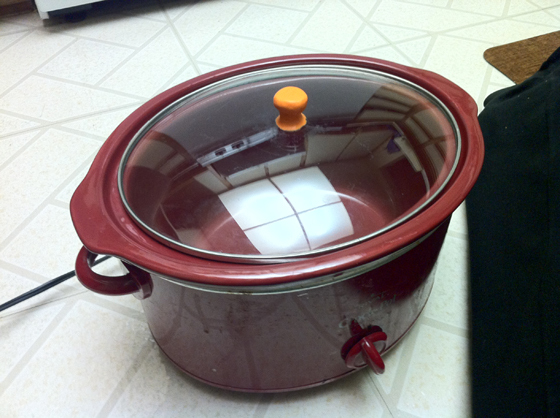 Repair your crock pot