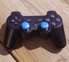 Pads on game controller good as new