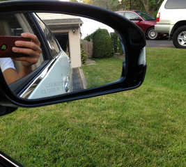 Fix an Infiniti M35 car side mirror