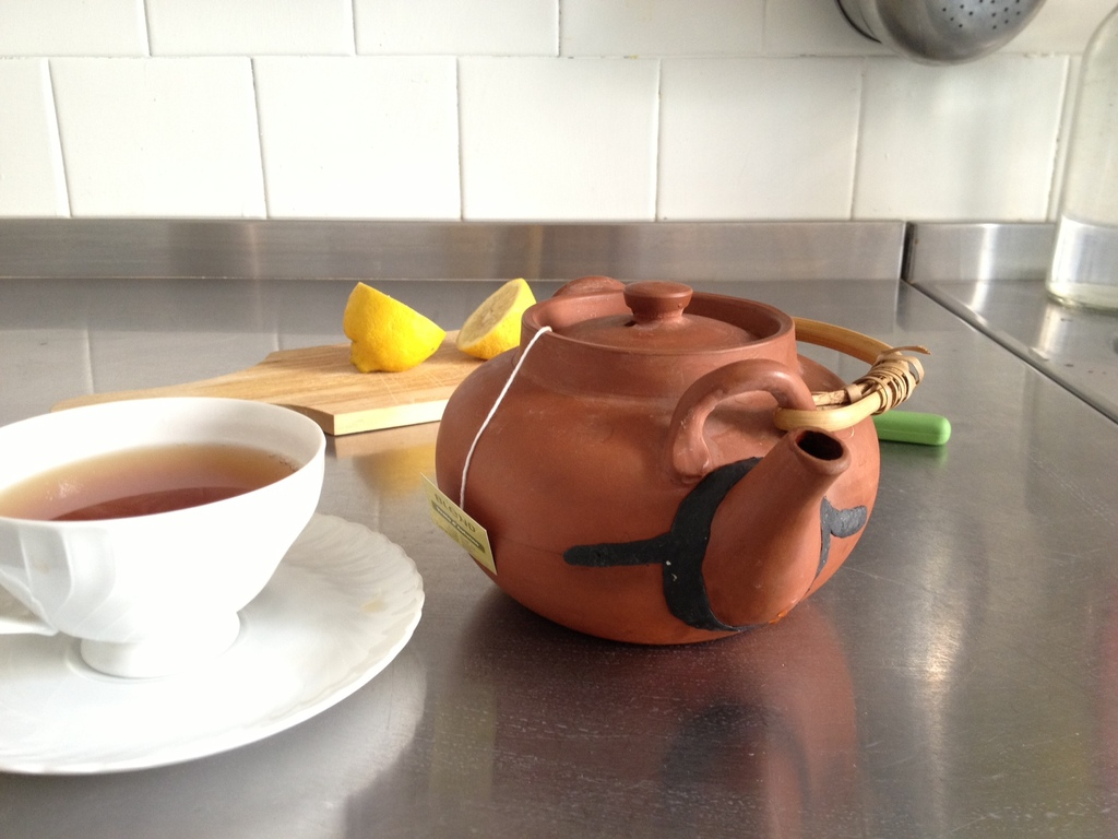 Fix a leaking teapot