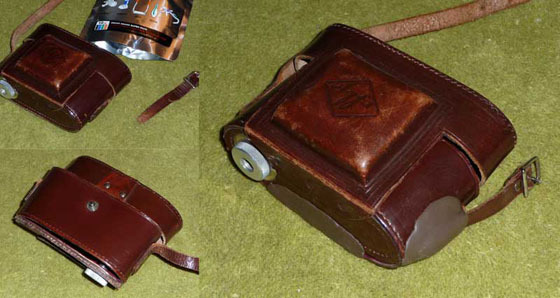 Repair an old camera case