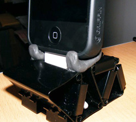 Make an iPhone charging dock