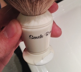 Fix a chipped shaving brush