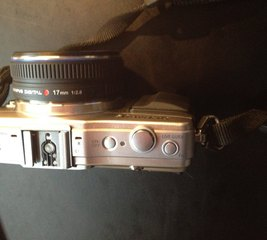 Add grips to an Olympus Pen Mini camera