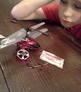Repair a toy helicopter