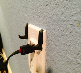 Add an iPad holder to the outlet (before)