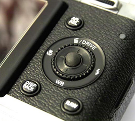 Enlarge a camera button that's too small
