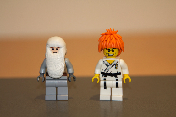 Give your Lego men cool hairdos