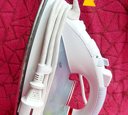 Make winding the cord around your iron easier
