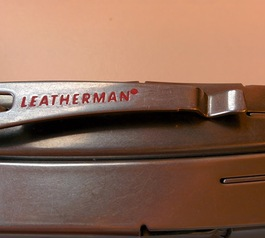 Improve lettering on a Leatherman multi-tool