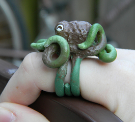 Make an octopus ring