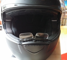 Make motorcycle helmet reading glasses