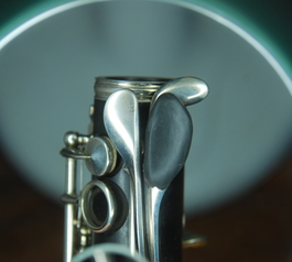 Customise and adjust a clarinet key