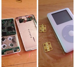 Turn an old iPod into a wallet (before)