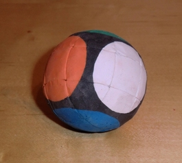 Make a bouncy Rubik's ball