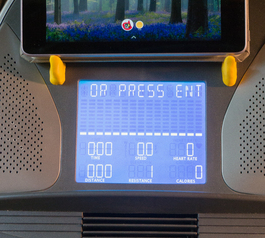 Make a treadmill tablet mount