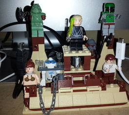 Make a LEGO multiple cable tidy