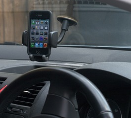 Make your in-car phone holder fit an iPhone