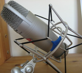 Fix a microphone mount