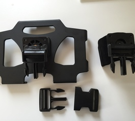 Make a Brodit car mount iPhone and iPad compatible (before)
