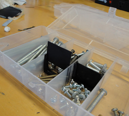 Make organiser sub-dividers