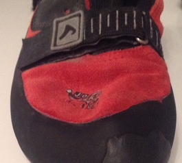 Repair your climbing shoes