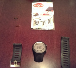 Repair your Garmin sports watch (before)