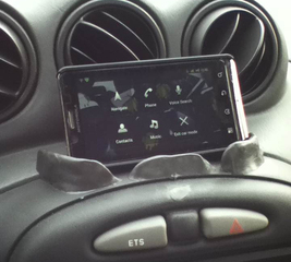 Craft the perfect car phone holder