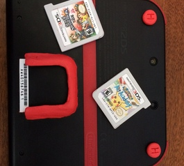 Create a Nintendo 2DS game holder (before)