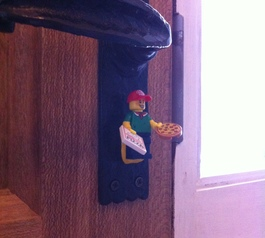 Create a Lego draught excluder