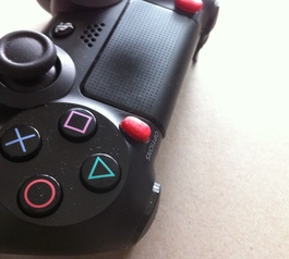 Customise Sony PS4 controller buttons (before)