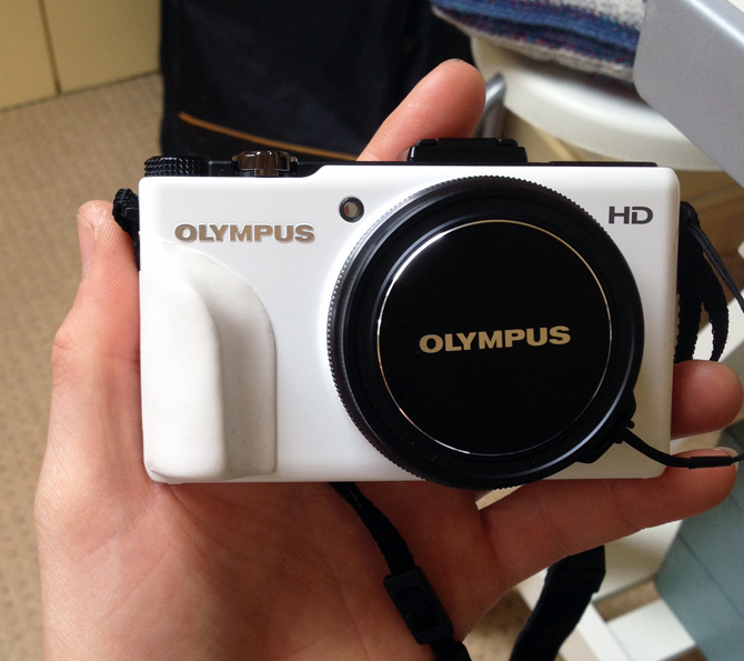 Make a grip for the Olympus XZ-1 camera