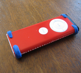 Add bumpers to your iPod remote