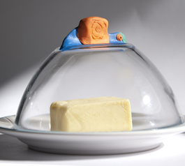 Create a butter dish