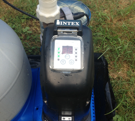 Fix and waterproof an Intex saltwater system