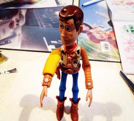 Make a toy cast for Woody