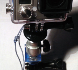 Make an orientable Gopro mount