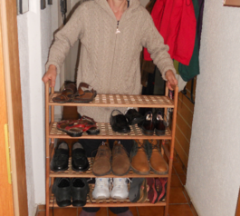Build more shoes storage (after)
